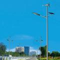 El viento solar promocional del último diseño llevó la farola solar del jardín del equipo solar de la luz de la fan