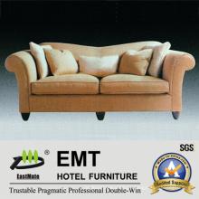 Conjunto de sofá de tecido de hotel de alta qualidade (EMT-SF45)