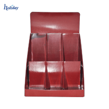 Affichage de carte postale Corrugated pegboard table Sticky Note compteur affichage