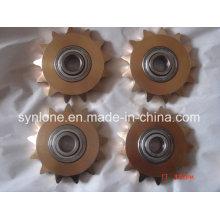 Engrenage de rasage en laiton d'usinage CNC