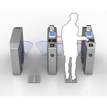 Sistema de controle de acesso biométrico antiestático ESD