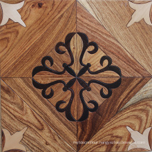 Special Maple and walnut pattern parquet floor