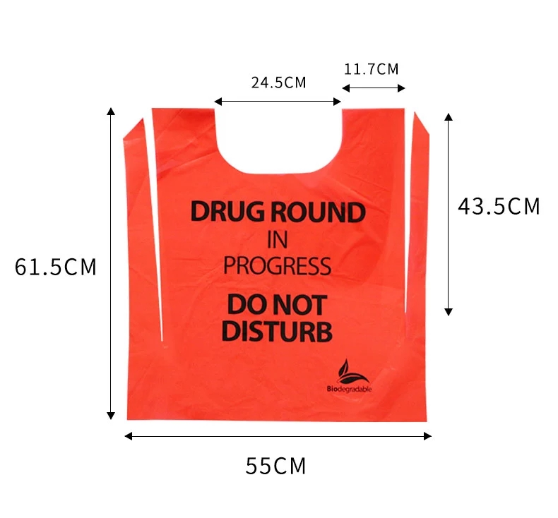 Bio Disposable Plastic Surgical Apron Bag
