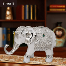 Bricolage en résine éléphant en Thailande pour la décoration de la maison