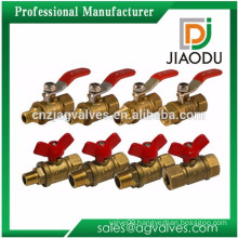 China manufacturer sample free 1 2 0.5 1/2 6 inch npt threaded forged copper laiton and brass control valve dn50