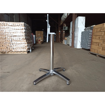 aluminum polished dining table leg