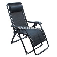 Atacado Tubo Quadrado Deluxe Folding Zero Gravity Chair