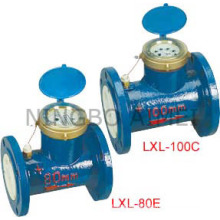 Medidor de agua tipo Woltman horizontal (LXL - 80C - 200C LXL-80E-200E)