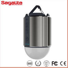 2000 To10000mAh solar LED Lantern recargable 320 Lumen USB Banco de energía de camping de luz