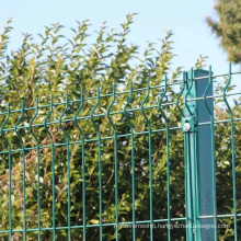 Powder Coated Galvanized 200X50mm Mesh Steel Wire Fence Panels