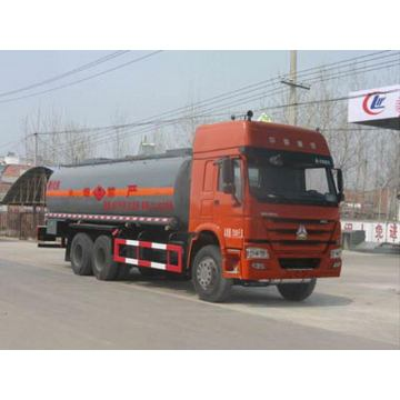 Cisterna líquida inflamable de SINOTRUCK HOWO 310HP 22000Litres