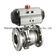 High Performance Pneumatic Floating Ball Valve with ISO Top Mounting