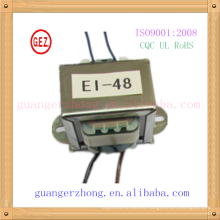Transformador laminado RoHS CQC 6.0w-20.0w ei 48 ei