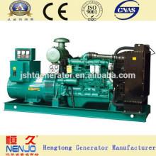 Турбина 500kw CE утвержденный с водяным охлаждением открытого типа yuchai генератор