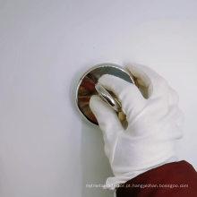 Detector de metal redondo com ganchos magnéticos Ímã de pesca