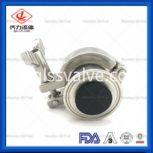 Sanitary Stainless Steel Air Blow Check Valve 4