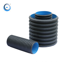 economic large diameter plastic drain tube hdpe pipe for building engineering