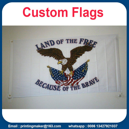 Benutzerdefinierte Business Flags Full Color Club Emblem Werbung