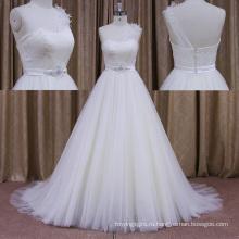 Китай Weddignd Ресс Свадебное Платье Органза Цветок Юбка