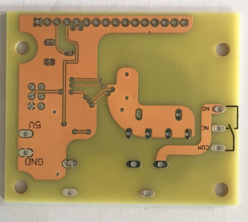 Clear Solder PCB
