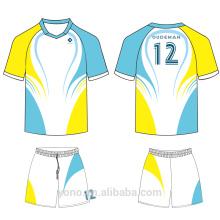 OEM \ ODM servicio 100% de alta calidad nuevo estilo profesional sublimación jersey de fútbol para entrenamiento y partido