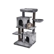 New Arrival Latest Design Double Condos Plush Cat Craft Cat Tree