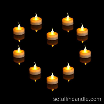 Jul dekorativa mini LED tealight ljus