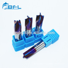 BFL CNC Solid Carbide Corner Rounding End Mills With Naco Coating