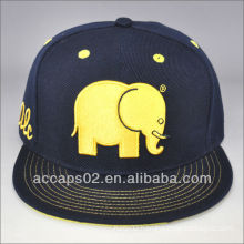 fashionable and popular flat brim snapback hats embroidery