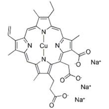 Chlorophylline de cuivre sodique CAS 28302-36-5