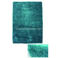 Elastic & Silk Mix Shagy Carpet Rug