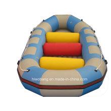 Bunte Rafting PVC Wasser fliegen Schlauchboot mit Airpillow
