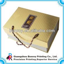 La caja de empaquetado del chocolate más nuevo de la moda 2014, caja de regalo de lujo de la cartulina