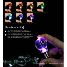 New cute noverlty LED bulb lihgt mini light key chain cell phone hanging crafts Wholesale