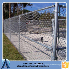 wholesale removable chain link mesh fence / home garden used chain link fence for sale