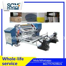 Máquina automática de corte e rebobinamento