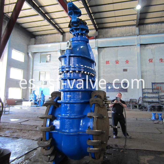Bs5163 Metal Seat Gate Valve 4