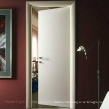 White Color Flush Swing Door
