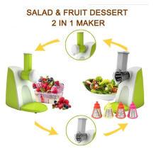 2 em 1 Multifunction Salad Shooter, Salad Maker