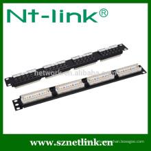 Патч-панель UTP cat5e rj45 с 24 портами