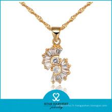 Nouvel ensemble de bijoux argent présent en stock (J-0060)