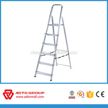 6step folding ladder,household step ladder,aluminium ladder supplier