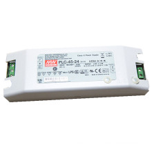 Original MEANWELL 30W to 100W PLC series terminal screw led driver 30-36vdc 1a PLC-45-36