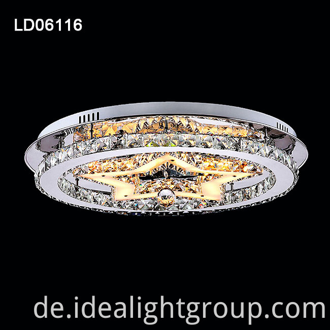 ceiling crystal lighting
