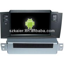 Reprodutor de DVD do carro do sistema de Android para Citroen C4L com GPS, Bluetooth, 3G, iPod, jogos, zona dupla, controle de volante