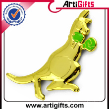 Gold plating metal car badges auto emblems