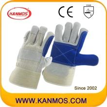 Anti-Scratch Blue Industrial Hand Защитные перчатки из натуральной кожи (110161)