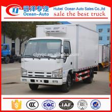 Capacidad 3000 kg Camión japonés refrigerador