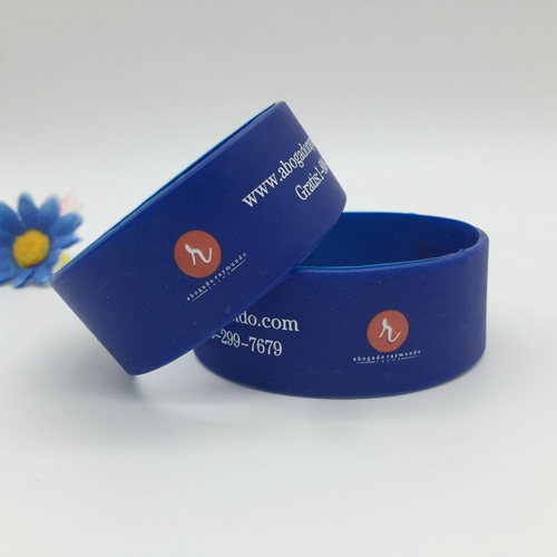 Screen-Printed Silicone Wristbands