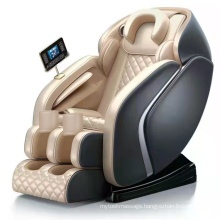 Full body electric 0 gravity air compression foot shiatsu massage chair with jade rollers